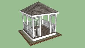 Gazebo Floor Plans Wooden Gazebo Plans Howtospecialist How To Build Step By Step