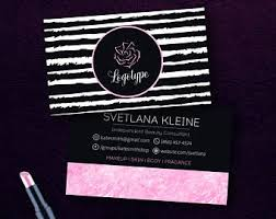 Vistaprint 9 99 Business Cards Mary Kay Business Etsy