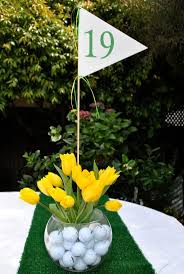 Birthday Table Decorations by Best 20 Golf Table Decorations Ideas On Pinterest