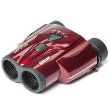 nikon travel light binoculars nikon aculon t11 8 24x25 red compact zoom binoculars binoculars at