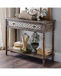 Mirrored Console Table Check Out These Holiday Deals On Distressed Rustic Mirrored