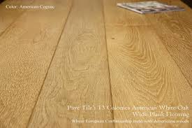 Prefinished White Oak Flooring Pavé Tile Wood Inc Reclaimed And Aged Engineered Oak