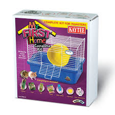 How Much Is A Hamster Cage Amazon Com Super Pet My First Home Complete Hamster Kit Blue