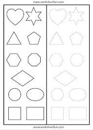 Free Printable Shapes Worksheets Shapes Worksheets U2013 Wallpapercraft