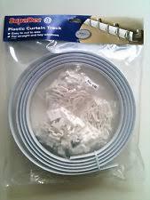 Plastic Curtain Tracks Plastic Curtain Rail Ebay