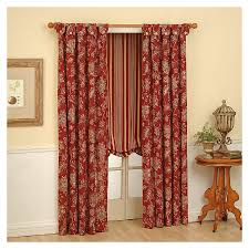 Discount Waverly Curtains Shop Waverly 63 In L Ruby Curtain At Lowes Com