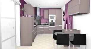 canap cuir prune decoration mur cuisine moderne avec deco mur cuisine moderne idee