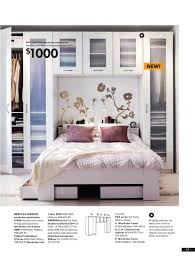 Organizing Small Bedroom Ikea Bedroom Ad 2008 Kind Of Liking This Idea For Behind The