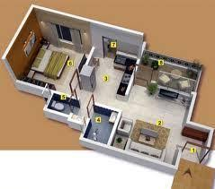How Big Is 550 Square Feet Residential Apartments In Panvel 1bhk 610 Sq Ft Flat Service