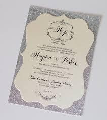 Sample Of Wedding Invitation Card Design Diy Glitter Wedding Invitations Card Design Collection Wedding