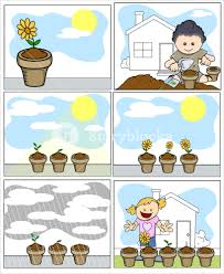 716 best environmental graphics images kids vector illustration planting and gardening in cartoon