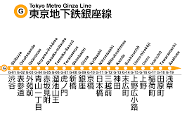 Tokyo Metro Route Map by File Tokyo Metro Ginza Line Png Wikimedia Commons