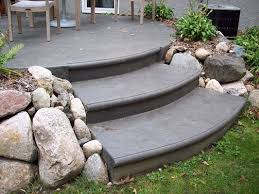 Color Concrete Patio by Backyard Concrete Patio Issaquah Wa Stamped Concrete Patio