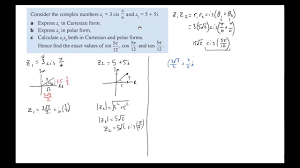 examples of multiplying and dividing complex vectors in polar form