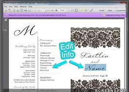wedding program paper stock printable wedding fan template how to at craftysticks