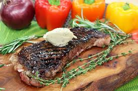 sauce boursin cuisine grilled striploin steak with boursin cheese sauce cityline
