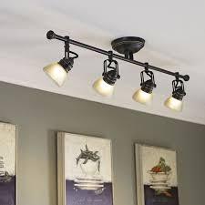 4 light led track lighting track lighting ideas the simple and modern design of burk spot head