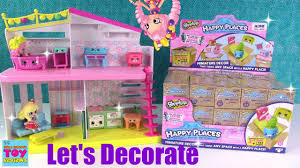 happy places shopkins surprise delivery let u0027s decorate happy home