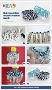 diy make bracelet images Chain bracelet diy make beaded chain bracelet nbeads jpg
