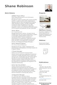project officer resume samples visualcv resume samples database