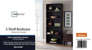 furniture home 33 dreaded walmart bookcase black picture concept