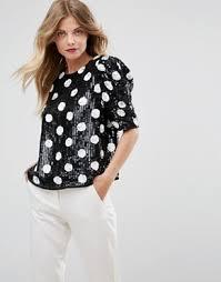 evening tops tops sequin tops embellished tops asos