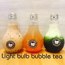 light bulb bubble tea teaholic light bulbs are back light bulb milk tea facebook