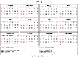 2016 calendar with federal paydays calendar template 2017