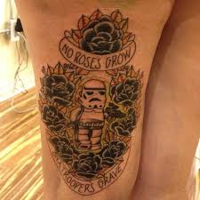 lego star wars stormtrooper tattoo on arm tattoomagz