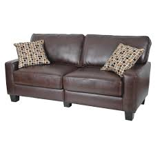 Leather Sofa Cushions Living Room Brown Leather Sofa Chocolate Brown Sofa