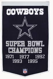 Cowboys Flag Gps Sports Gallery Dallas Cowboys Super Bowl Champs Banner