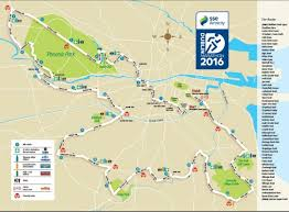 Map Of Boston Marathon Course by Dublin Marathon Map Dublin City Marathon Route Map Ireland