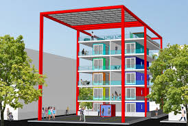 Shipping Container Apartments Stackhouse Shipping Container Project Planned Near Downtown
