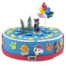 PAW PATROL edible cake topper decoration party birthday sugar