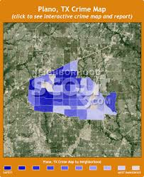map plano plano tx crime rates and statistics neighborhoodscout