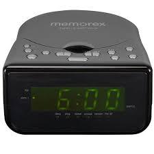 amazon com memorex cd alarm clock radio black electronics