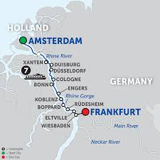 Wiesbaden Germany Map by 8 Day River Cruise Amsterdam To Wiesbaden Avalon Waterways River