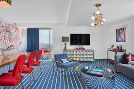 Jonathan Adler Interior Design First Ever Andaz Red Suite Designed By Jonathan Adler Debuts