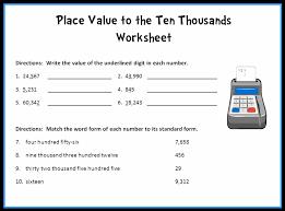 5th grade place value worksheets worksheets