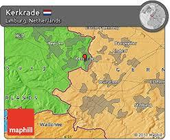 kerkrade netherlands map free political map of kerkrade