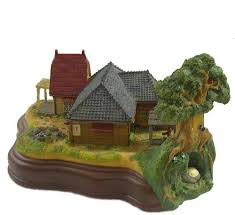 Studio Ghibli Decor Totoro Studio Ghibli Light Up Diorama Kusakabe House Satsuki And