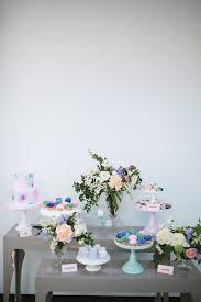 Bridal Shower Dessert Table Pastel Floral Bridal Shower Bridal Shower Ideas 100 Layer Cake