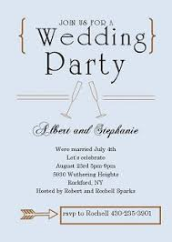 wedding celebration quotes elopement party invitations reception only invitations