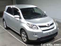 2008 toyota ist silver for sale stock no 40993 japanese used