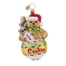 christopher radko cookie jar jams ornament home kitchen