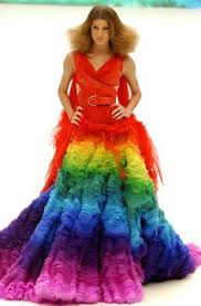gummy clothes mcqueen inspired dress made of 50 000 gummy bears