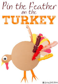 pin the on the turkey thanksgiving and twists