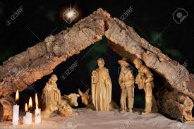christmas manger christmas manger a starry stock photo picture and