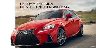 red lexus 2018 lexus is luxury sedan lexus com