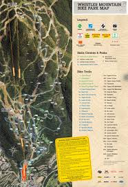 Whistler Canada Map by Whistler Mountain Bike Park U2013 Internex Canada